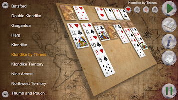 Screenshot of Klondike Planet