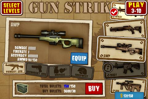 Gun Strike XperiaPlay- screenshot