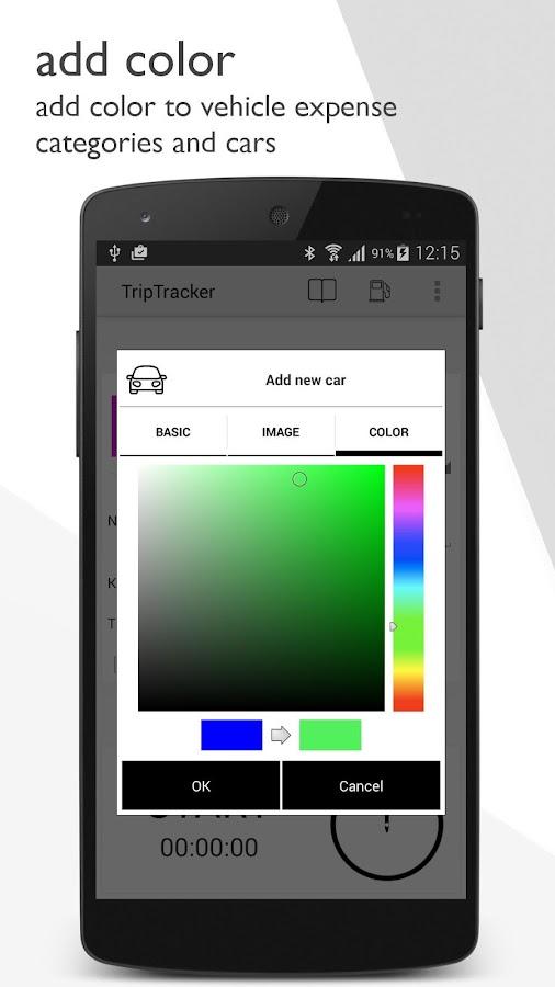 TripTracker - logbook - screenshot