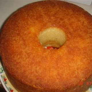 Something Different Pound Cake Recipe