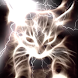 White Glowing Hellfire Kitty