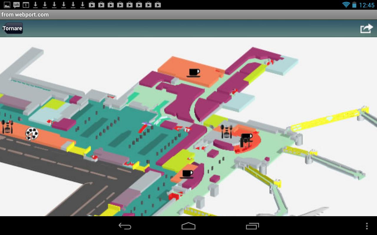 Aeroporto Alle Porte Di Milano : Aeroporto di milano linate lin volo tracker app android