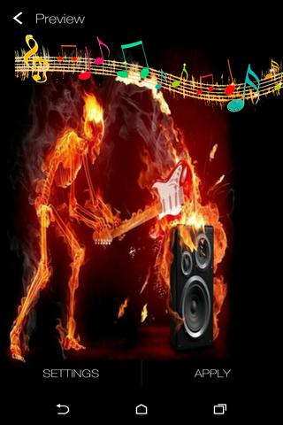 Music Live Wallpaper