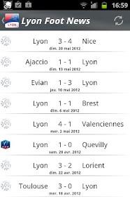 Lyon Foot News- screenshot thumbnail