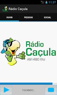 Rádio Caçula - Três Lagoas- screenshot thumbnail