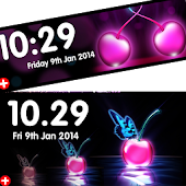 Cherry Clocks HD - Neon