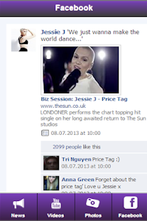 Jessie J: Videos + Music - screenshot thumbnail