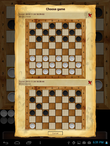 Russian checkers - Shashki 9.8.0 screenshots 12