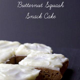 Butternut Squash Snack Cake