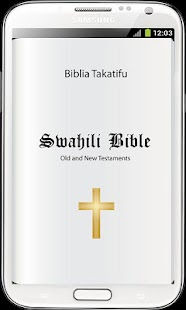 Bible in Swahili Free- screenshot thumbnail