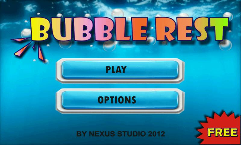Bubble Rest Free - screenshot