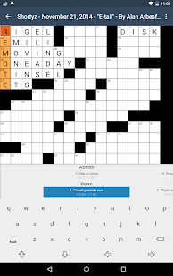 Shortyz Crosswords- screenshot thumbnail