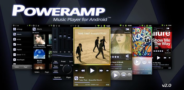 Root Poweramp 2.0.6 build 502 beta (Inc Full Version)