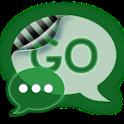 Green Glow Code Go SMS Theme logo