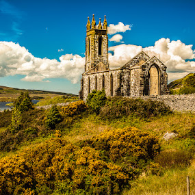 Dunlewey Church by Craig Brown - Buildings & Architecture Public & Historical ( ireland, church, image, scenic, landscape, old building, photo, photography, dunlewey, picture, nature, craig, canon 5d mk ii, craig brown )