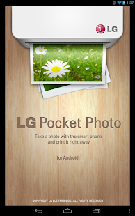 LG Pocket Photo- screenshot thumbnail