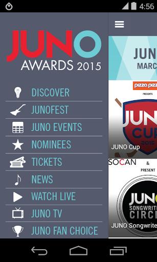 The 2015 JUNO Awards