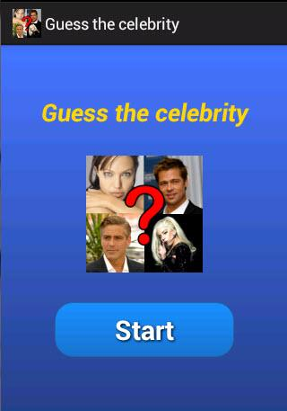 Guess the celebrity