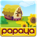 Papaya Farm for Go Launcher logo