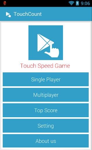 Touch speed game