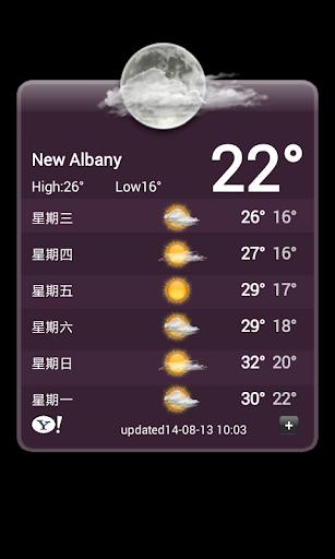 好用的天氣Widget for android. | ANDROID 香港資訊