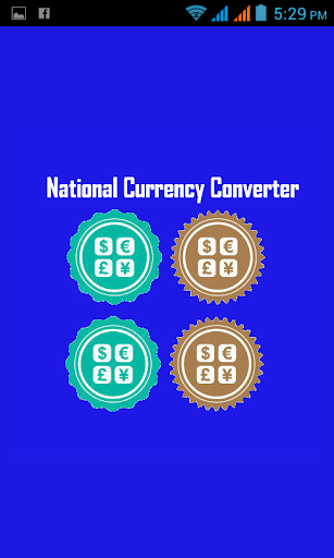 National Currency Converter
