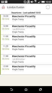 Virgin Trains- screenshot thumbnail