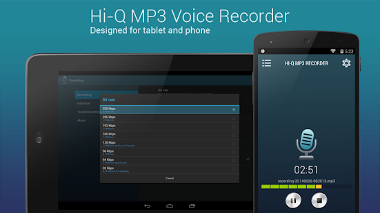 Hi-Q MP3 Voice Recorder Full