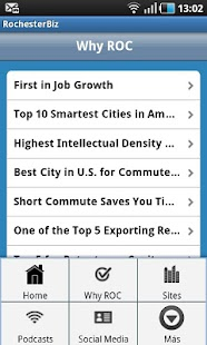 RochesterBiz - screenshot thumbnail