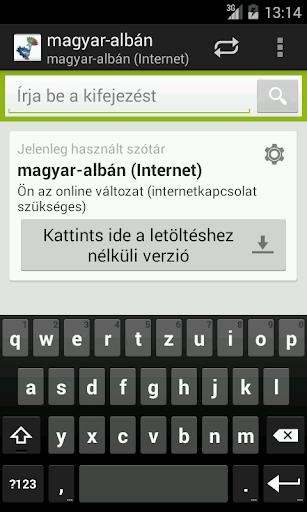 Magyar-Albán szótár