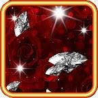Rose Diamond 3d Live Wallpaper