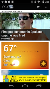KXLY.com - screenshot thumbnail