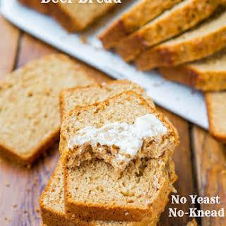 Honey Maple Beer Bread.