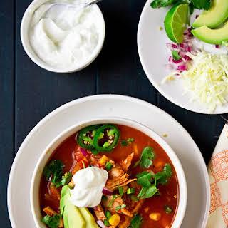 Texas Chicken Tortilla Soup.