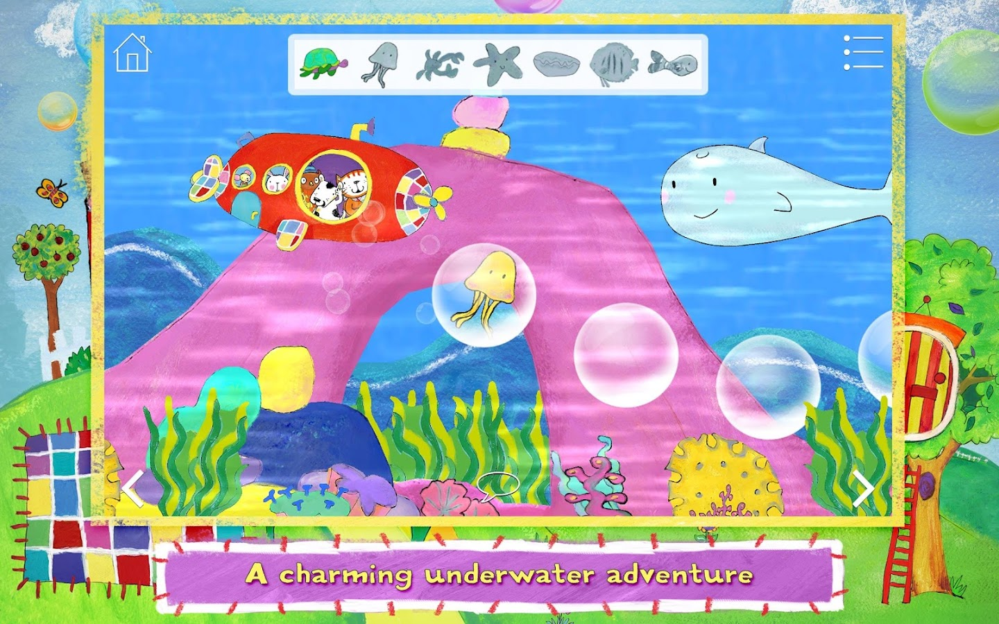 Poppy Cat & the Bubble Volcano- screenshot