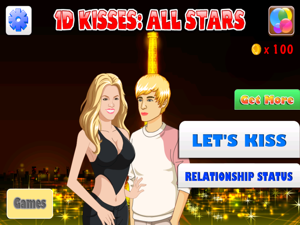 One Direction Kisses All-Stars- screenshot