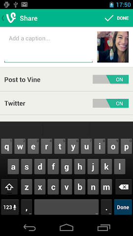 Screenshots for Vine for Android