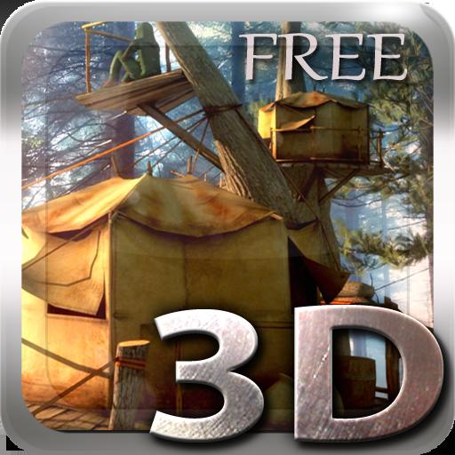 Tree Village 3D Free lwp