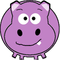 Harry the Happy Hippo logo