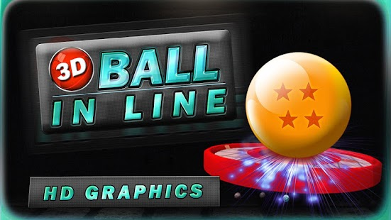 3D BALL IN LINE- screenshot thumbnail