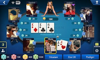 Screenshot of Balkan Hold'em