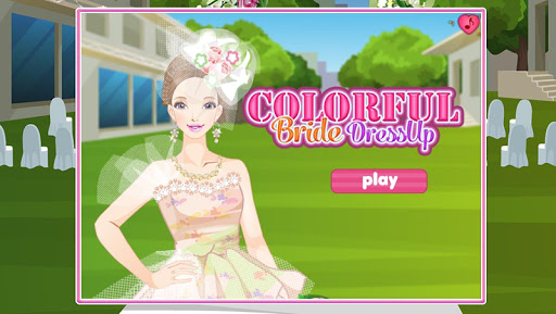 Colorful Bride DressUp