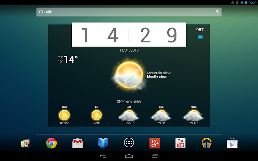 android personalization apps Beautiful Widgets Pro v5.3.0 APK