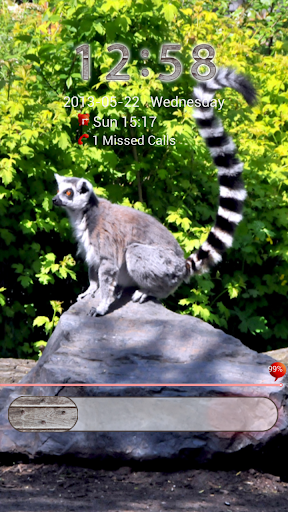 GO鎖屏動物園裡的動物主題2