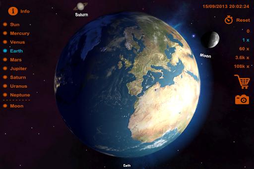 太陽系 3D