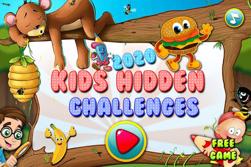 2020 Kids Hidden Challenges