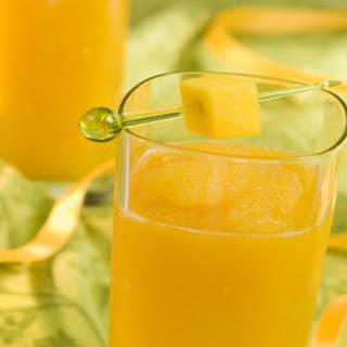 Mango Tea Slushie