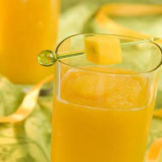 Mango Tea Slushie.