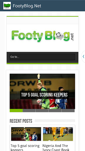 Footy Blog - Soccer News Site