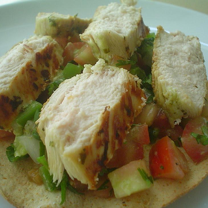 Chicken and Chili Toasts Recipe